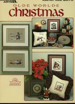 """Olde World Christmas"" 13 cross stitch projects 1986 Leisure Arts EUC - $8.99"