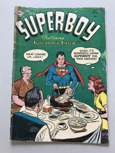 Superboy (1949-1979 1st Series DC) #36 Low Grade