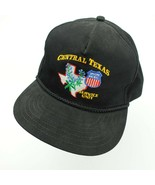 Central Texas Union Pacific Service Unit Ball Cap Hat Snapback VTG Train - $19.79
