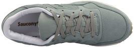 Saucony Originals da Uomo Verde pelle Nubuck Dxn Trainer CL Corsa Sneaker Scarpe image 4