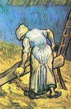 100% Hand Painted Oil on Canvas - A farmer cutt... - $229.00