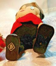 "Vintage Stockinette Doll Christmas Drummer Made in Japan by Noel 10""  image 6"