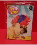 Rubies Pet Dog Clothes M/L Mohawk Wig Halloween Costume Prop Holiday Can... - $3.79