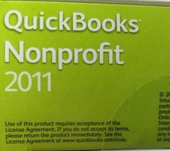 Quickbooks Premier Industry Edition Nonprofit 2011 Windows 7, Vista, XP image 10