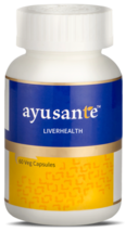 HERBAL AYURVEDA VESTIGE AYUSANTE LIVER HEALTH HERBAL SUPPLEMENT 60 CAPSULE - $25.74+