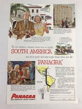 Panagra Pan American-Grace Airways Vtg 1954 Print Ad Art Airlines - $9.89
