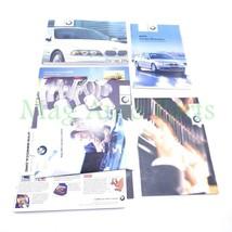 02 BMW E39 525i 530i 540i Owner Manuals Operator Books Set 2002 Suppleme... - $28.71