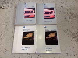 1992 1993 MITSUBISHI Diamante & Diamante Wagon Service Shop Repair Manua... - $26.10