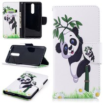 Pattern Printing PU Leather Magnetic Wallet Stand Cell Phone Case for No... - $5.98