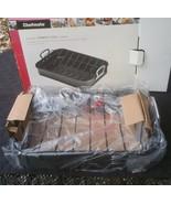 Chefmate Roasting Pan Roaster Carbon Steel Rack 2 Piece NIB - $98.99