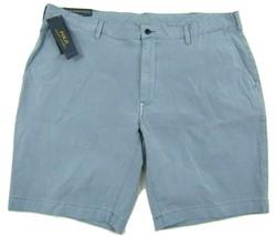 """NWT Polo Ralph Lauren Classic Fit Glacier Blue Shorts Men's W40 Inseam 9"""" Cotton - $39.55"""