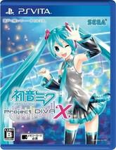 Neuf Ps Vita Hatsune Miku Projet Diva X Sega Jeux # - $16.60