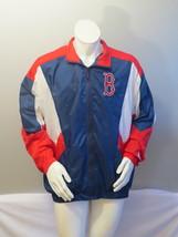Boston Red Sox Jacket (VTG) - Colorblock Windbreaker by Starter - Men's XL - $95.00