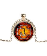 Gaxybb Rammstein Rock Band Necklaces & Pendants 4 Image Style Dome Crys... - $5.53