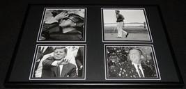 President John F Kennedy JFK  Framed 12x18 Photo Collage D - $69.29
