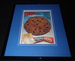 1987 Nabisco Chips Ahoy Framed 11x14 ORIGINAL Vintage Advertisement - $32.36