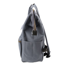 Anello Official Japan Light Grey Regular Backpack Rucksack Diaper Travel Bag image 5