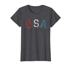 Halloween Shirts -  4TH OF JULY Shirts SHIRT USA Vintage Retro Distressed 70's 8 - $19.95+