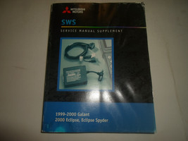 1999 00 MITSUBISHI Galant Eclipse Spyder Service Manual Supplement WATER... - $19.34