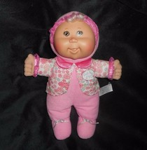 "12"" 2008 Cabbage Patch Kids Baby Pink Flowers Blonde Stuffed Animal Plush Doll - $26.18"