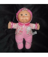 """12"""" 2008 CABBAGE PATCH KIDS BABY PINK FLOWERS BLONDE STUFFED ANIMAL PLUS... - $24.87"""