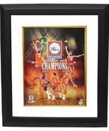 Reggie Johnson signed Philadelphia 76ers 16x20 Photo Custom Framed Colla... - $199.00