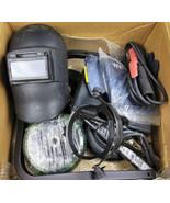 Welding Tool Kit Set Helmet Gloves Wheels Protective Gear Metal Fabrication - $66.50