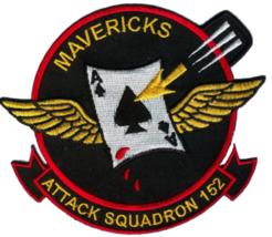 US Navy VA-152 Mavericks Patch & Sticker - $19.79