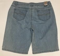 Women's Bermuda Jeans Shorts Sz 14 Hannah Denim image 5