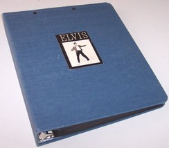 VTG Elvis Presley Scrapbook Containing Pictures, Newspaper Articles & Ep... - $80.00