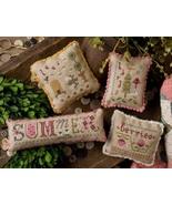 Summer Smalls LK182 cross stitch chart Lizzie Kate - $11.25