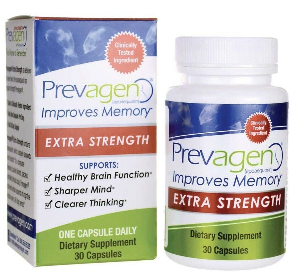 Primary image for Prevagen Extra Strength - 30 Capsules