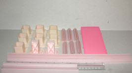 1981 BARBIE MAGIC SOUNDS TOWN HOUSE Replacement Parts plus Pink Elevator... - $9.99