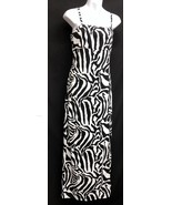 Newport News Easy Style (Sz 16) Tiger Maxi Thigh High Slit Womens Travel... - $46.55