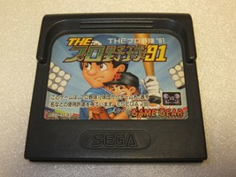 """Sega Game Gear """"The Pro Yakkyu '91"""" Game - Import JAPAN - $6.99"""