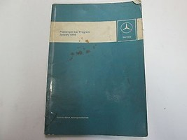 1968 Mercedes Benz Passenger Car Program Manual Intro to Service JAN WOR... - $79.18
