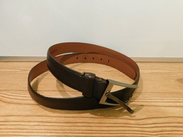 Kenneth Cole New York Men's Belt Genuine Leather Brown Size 42  - $19.79