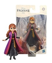 Disney Frozen II Anna 4in Doll with Removable Cape 2 New in Package - $12.88