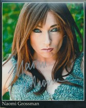Naomi Grossman signed color photo. Nice !! - $12.95
