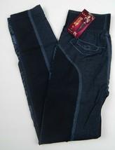 Y.X.S Charm Fashion Women's Juniors Blue Printed Leggings One Size Fits ... - $16.99