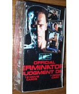 LOT of 4 Terminator 2 Judgement Day Movie Trading Cards Factory Sealed B... - $44.00