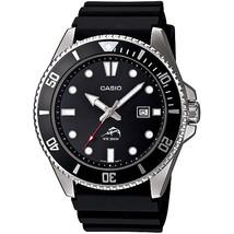Casio Men's Black Dive-Style Sport Watch MDV106-1AV - $79.26 CAD