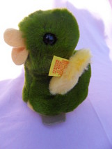 Steiff duck  duckling small button flag stuffed animal  made in Germany b7 - $31.66