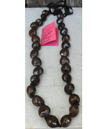 Hawaiian Kukui Nut Lei Necklace - $18.00