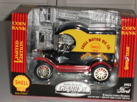Ford Motor 1912 Delivery Truck w/Shell Motor Oil Co 1:24 Scale die cast... - $29.95