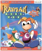 Rayman Activity Center [CD-ROM] Windows NT / Mac / Linux / Unix / Window... - $11.71
