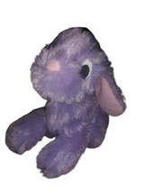 Purple Bunny Plush Cottontail Stuffed Animal Manhattan Toy Company - $9.89