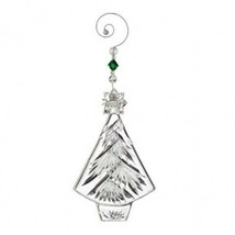 Waterford Crystal 2013 Annual Christmas Tree ornament with enhancer New # 160052 - $46.28