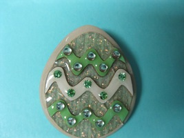 House Pin by Lucinda -one-of-a-kind- EASTER EGG - FREE SHIPPING - $20.00