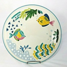 Studio Nova Barrier Reef Serving Platter Chop Plate Cake Plate Fish 12 Inch - $16.78